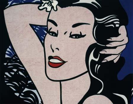 Roy Lichtenstein, Little Aloha, 1962, Venezia, Ca' Pesaro - Galleria Internazionale d'Arte Moderna, in deposito dalla/ on loan from the Sonnabend Collection Foundation - Mostra Attorno alla Pop Art