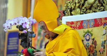 S.S. il XIV Dalai Lama, India 2015 (foto di Giampietro Mattolin )