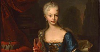 """Ritratto di Maria Teresa d'Austria giovane - Mostra """"Maria Teresa e Trieste """""""