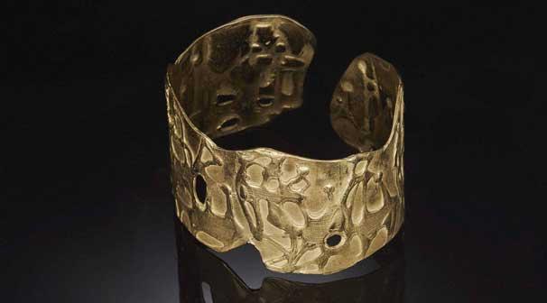 Mario Giansone, gioiello in oro