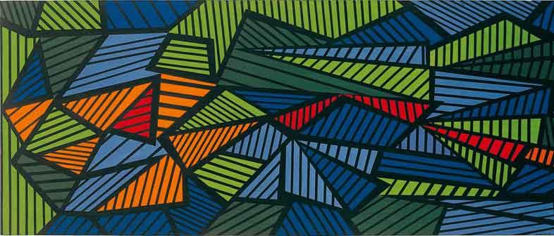Mario Nigro, Pittura fuga, Painting Fugue, 1952