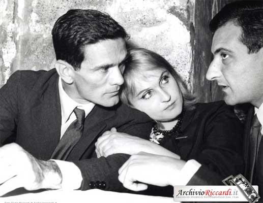 Pier Paolo Pasolini, 1960, Premio Strega con Laura Betti