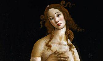 Venere di Botticelli, 1490 circa, Musei Reali Torino