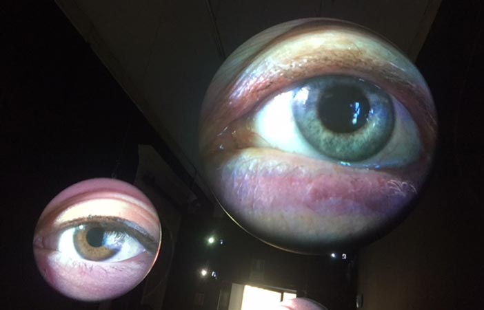 Tony Oursler, Obscura 1996/2013 - Mostra Enjoy