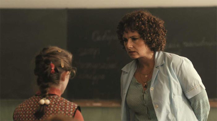 Zuzana Mauréry in una scena del film The Teacher