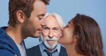 "Yaniss Lespert, Pierre Richard, Fanny Valette nel film "" Un profilo per due """