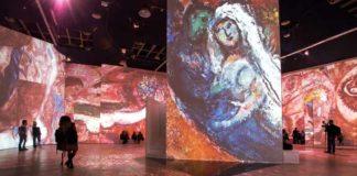 Chagall - Allestimento mostra