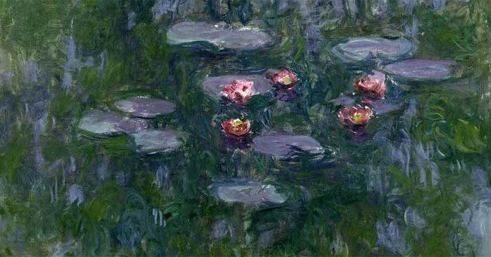 Claude Monet (1840-1926) Ninfee, 1916-1919 Olio su tela, 130x152 cm Parigi, Musée Marmottan Monet © Musée Marmottan Monet, paris c Bridgeman-Giraudon / presse