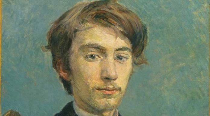 Henri de Toulouse-Lautrec, Emile Bernard, 1885, olio su tela, National Gallery, London (in deposito dalla Tate Gallery)