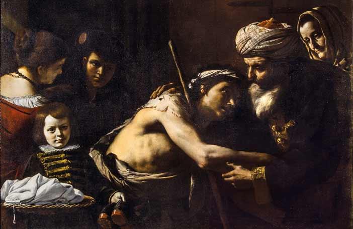 """Mattia Preti, Il ritorno del figliol prodigo - Mostra """"Da Giotto a De Chirico - I tesori nascosti"""""""