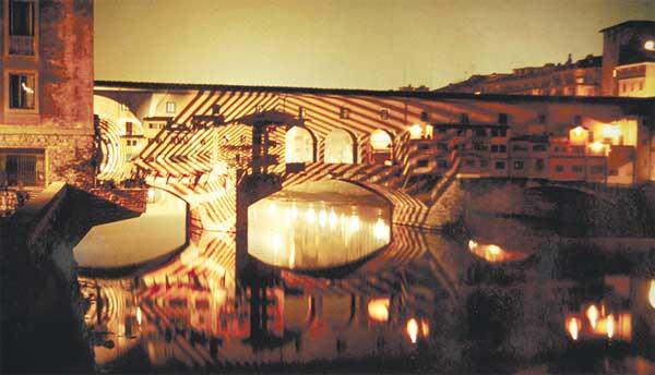 Firenze, Ponte Vecchio - Mostra sugli architetti radicali 9999