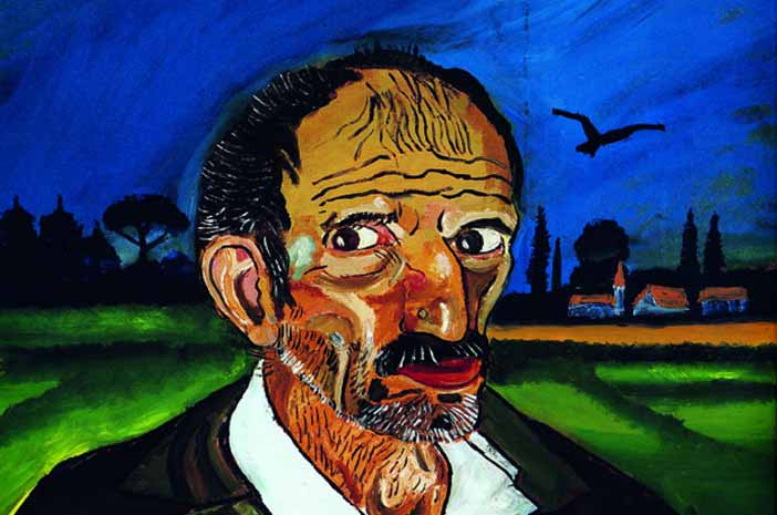 Antonio Ligabue - Autoritratto