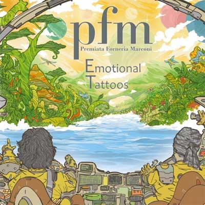 Premiata Forneria Marconi, Cover album Emotional Tattoos