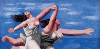 Pablo Picasso, Deux Femmes courant sur la plage (La course), Dinard, Estate 1922, Gouache su tavola.