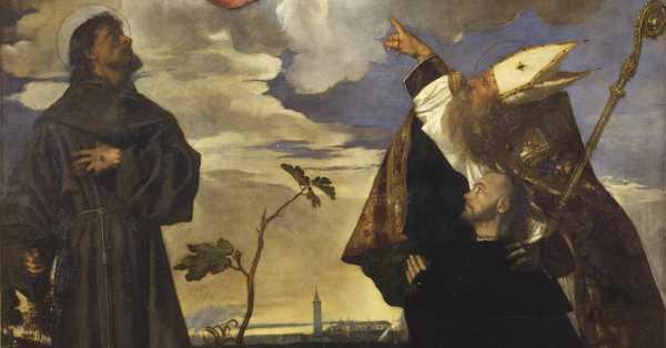 Sacra conversazione di Tiziano