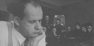 Sergej M. Ejzenštejn al VGIK (Istituto statale di cinematografia dell'Unione Sovietica)