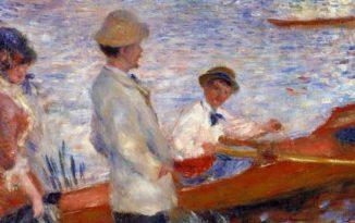 Monet experience and the Impressionists, SCENA LA SENNA E LA VAL D'OISE LATERALE DX175