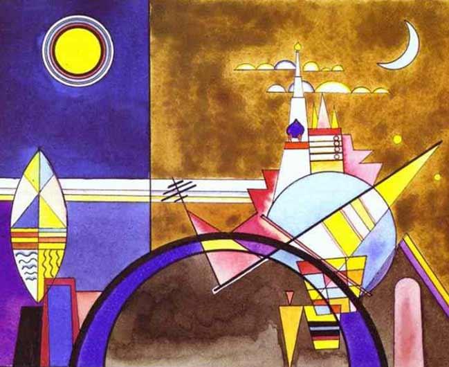 Wassily Kandinsky, Bühnenentwürfe zu Musorgsky