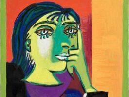 Pablo Picasso, Portrait de Dora Maar (Parigi, 23 novembre 1937), Olio su tela, 55 x 46,3 cm Musée National Picasso-Paris, Parigi © Succession Picasso, by SIAE 2017
