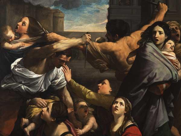 Guido Reni, La strage degli innocenti, 1611, particolare