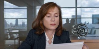 Isabelle Huppert nel film Happy end