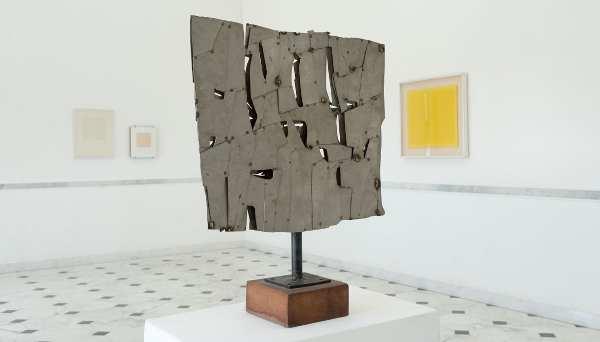 Pietro Consagra: colloquiocolvento_1962_Courtesy Museo Villa Croce Genova, Opere dalla Collezione Maria Cernuschi Ghiringhelli
