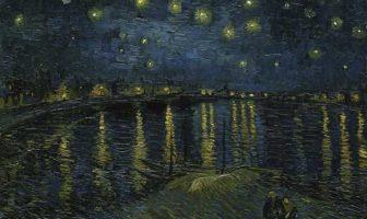 Vincent van Gogh - Notte stellata sul Rodano, 1888, Collezione Musée d'Orsay, Paris - Google Art Project