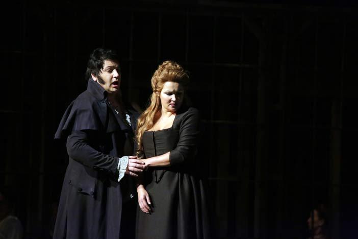 Yusif Eyvazov e Anna Netrebko nell' Andrea Chénier di Umberto Giordano - Ph.Brescia/Amisano - @ Teatro alla Scala
