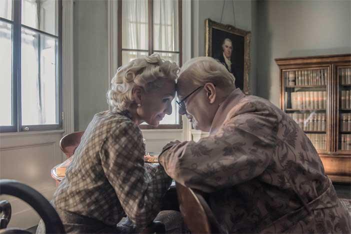 Un'immagine del film L'ora più buia
