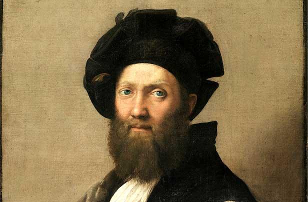 Ritratto di Baldassarre Castiglione, Raffaello Sanzio