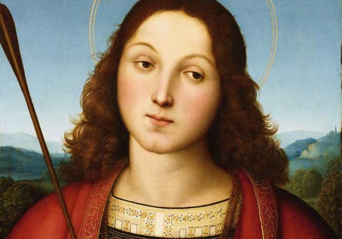 Raffaello Sanzio, San Sebastiano, Accademia Carrara, Bergamo