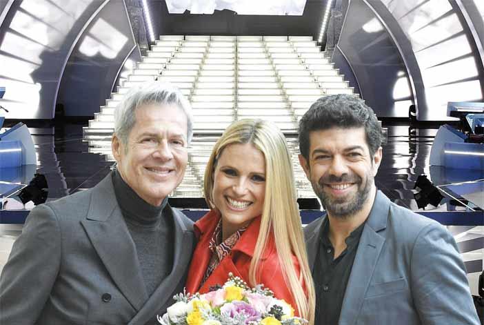 Sanremo 2018, mistero sul marito di Michelle Hunziker:ecco cos'è successo