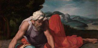 Daniele da Volterra: Il profeta Elia nel deserto 1550 ca., olio su tela. Collezione privata, courtesy Galleria Benappi