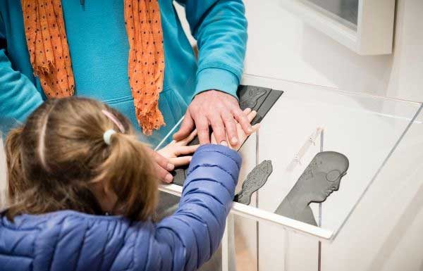 Percorsi Tattili alla Collezione Peggy Guggenheim di Venezia