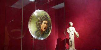 Sala Caravaggio. La Medusa - Uffizi di Firenze