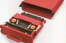 Valentine con valigetta, Macchina per scrivere manuale portatile 1969 (Olivetti), Ettore Sottsass