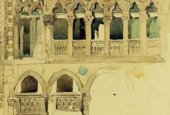 Venezia celebra john ruskin con una mostra a palazzo ducale for Mostra cina palazzo venezia