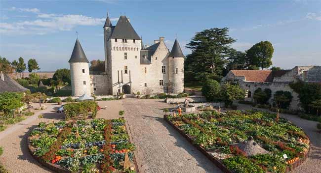 Chateau du Rivau, orto di Gargantua, Archivio Chateau Du Rivau