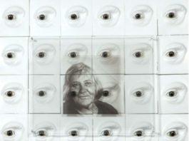Frammento dell'opera dedicato all'astronoma fiorentina Margherita Hack