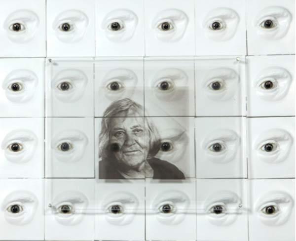 Frammento dell'opera dedicato all'astronoma fiorentina Margherita Hack - Le Donne e i loro contributi alla Scienza