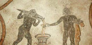 Villa dei Mosaici di Spello, mescita del vino