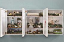 Bertozzi & Casoni: Composizione, 2014, 3 moduli in ceramica