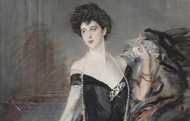 Giovanni Boldini, Ritratto di Donna Franca Florio