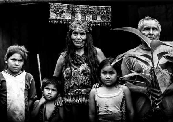 Gianluca Balocco, tribù del popolo Shuar