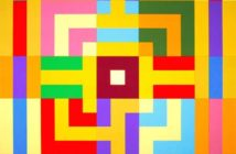 Vincenzo Frattini, Labirinto 5 – 08, Tempera acrilica su tele assemblate, cm 119x119x6, 2008, courtesy artista