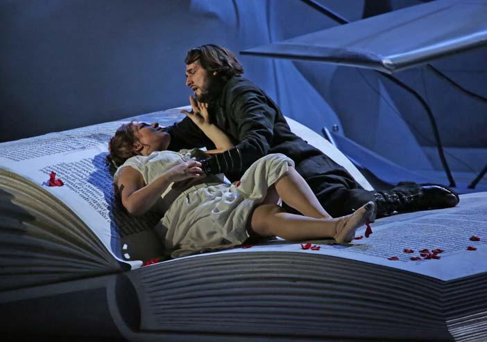 Maria José Siri e Marcelo Puente in Francesca da Rimini di Riccardo Zandonai