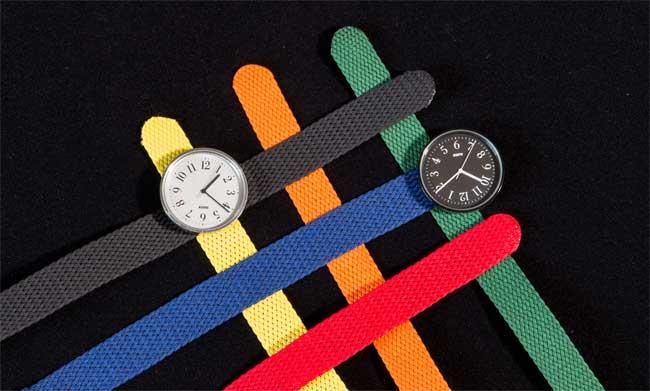 Achille Castiglioni – Max Huber, Rekord (orologio) per Alessi, 1989 (foto di Matteo Zarbo) Archivio Fondazione Achille Castiglioni © 2018, ProLitteris, Zurich