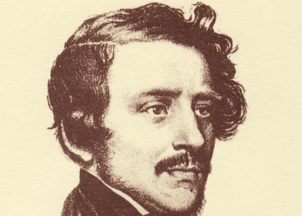 Gaetano Donizetti autore delle musiche di Lucia di Lammermoor