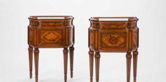 Giuseppe Maggiolini (Parabiago, Milano 1738-1814), 1787, Coppia di piccoli mobili, 83,5 x 60,5 x 33 cm, Piva & C. srl - Milano - Amart