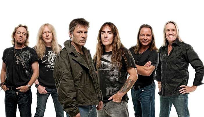 Iron Maiden al festival Firenze Rocks